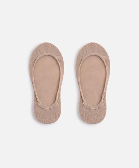Non-slip shoe liner socks