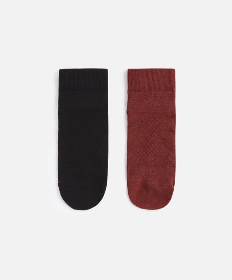 2paires de chaussettes techniques