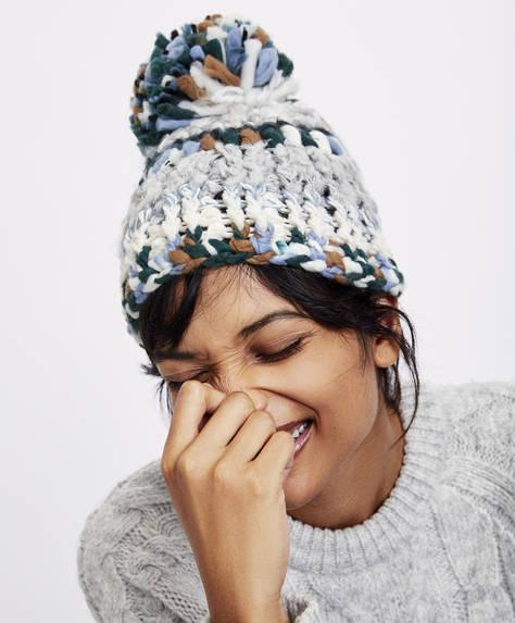 Mütze aus Jacquardstoff