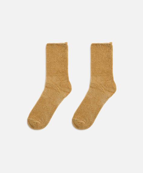 Chenille-Socken