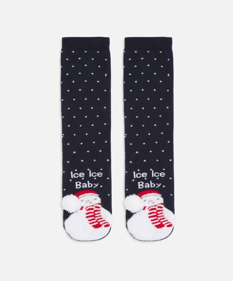 Κάλτσες με χιονάνθρωπο