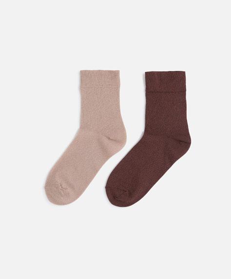 2 Paar modische Socken