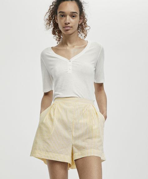 Striped sunny shorts