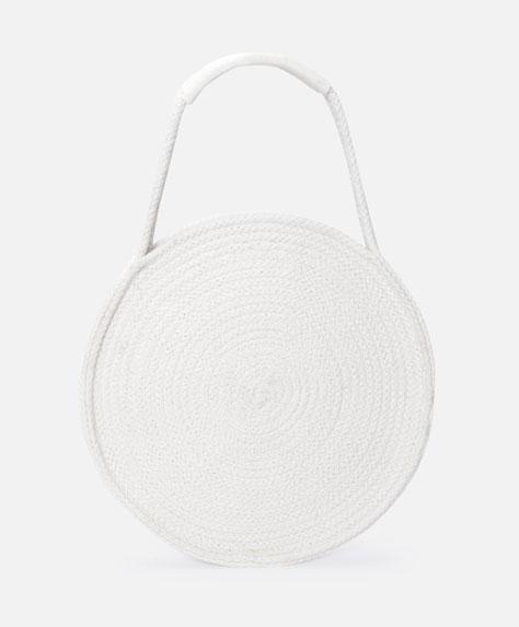 Circular tote bag