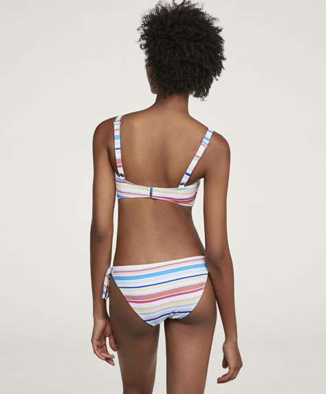Watercolour classic bikini bottoms