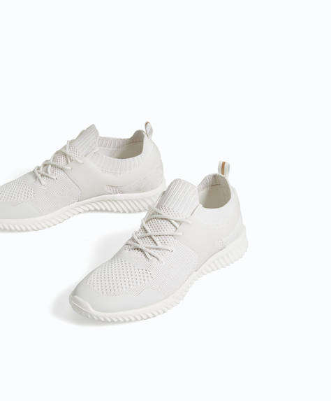 'ALL WHITE' trainers