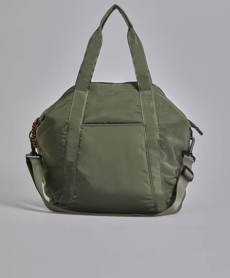 Gym bag with handle detail