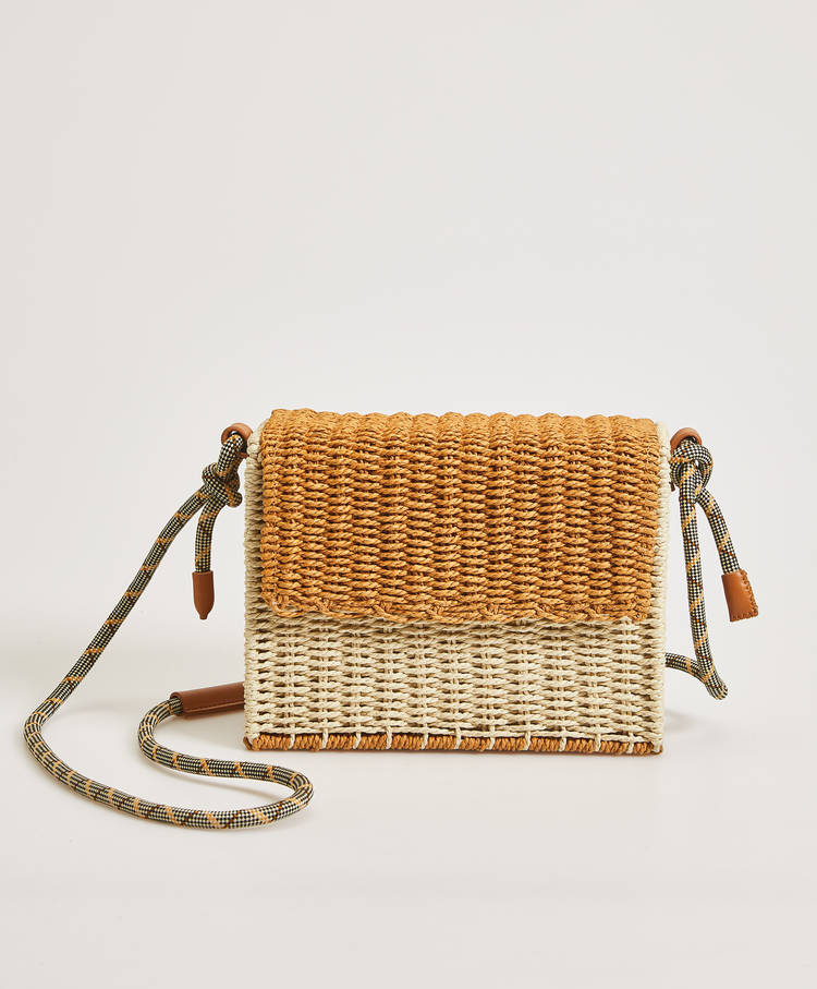 Bolso Bicolor by Oysho
