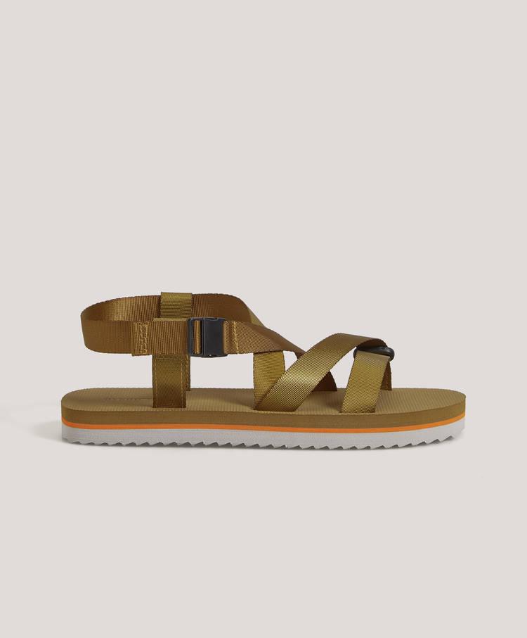 3ae4a9cd4 Combined strappy sandals - Footwear - Swimwear and beachwear | Oysho ...