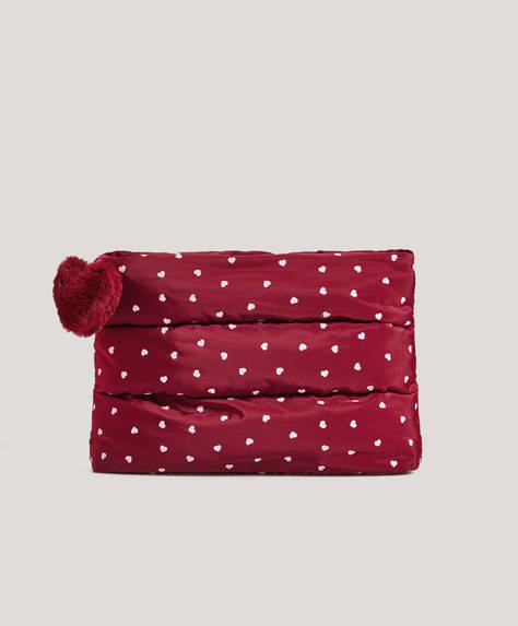 Heart toiletry bag