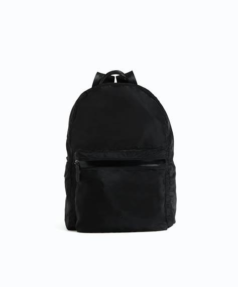 Soft nylon rucksack