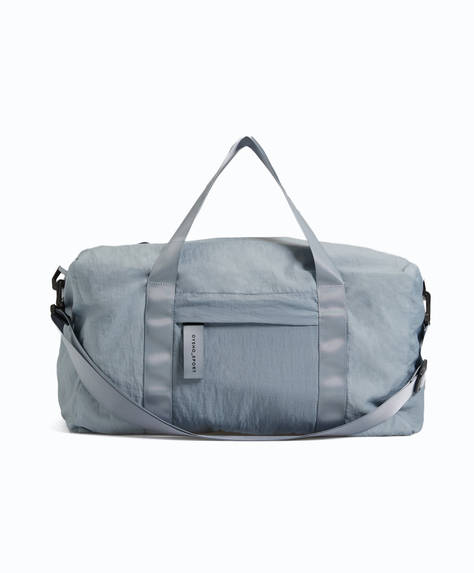 Reversible blue and khaki bag