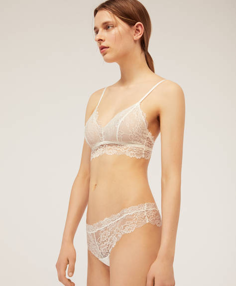 String hipster dentelle Essential Lace