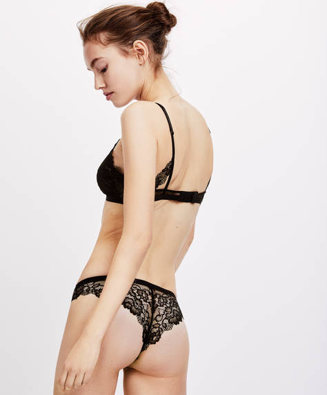 Tanga dentelle Essential Lace