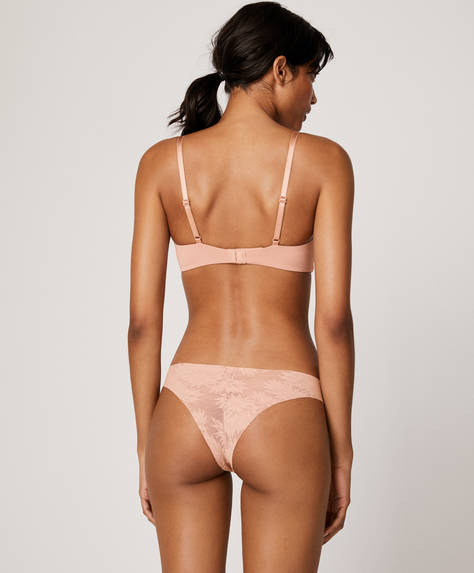 All-over lace Brazilian briefs