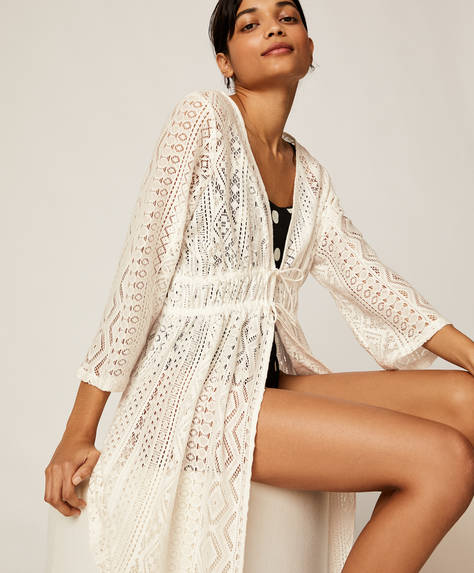 Short crochet tunic