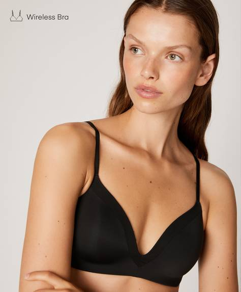 Non-wired micro bra