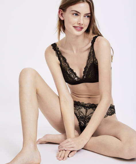 Sujetador triangular Essential Lace