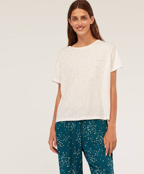 Dotty short-sleeved T-shirt