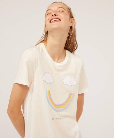 Camiseta arco iris