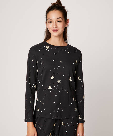 Moons and stars T-shirt
