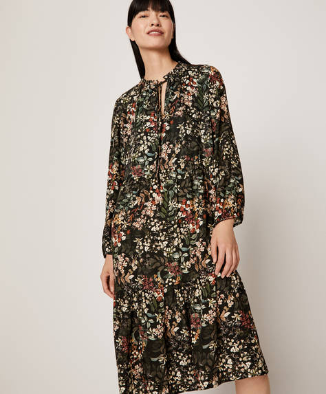 Subtle floral nightdress