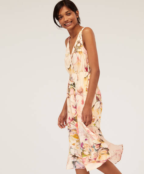 Multicoloured floral nightdress