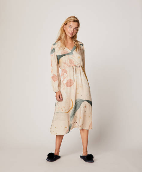 Hummingbird print nightdress