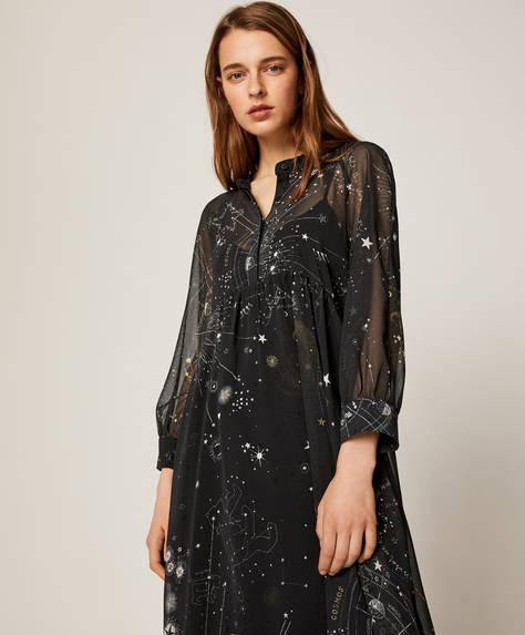 Chiffon cosmos nightdress