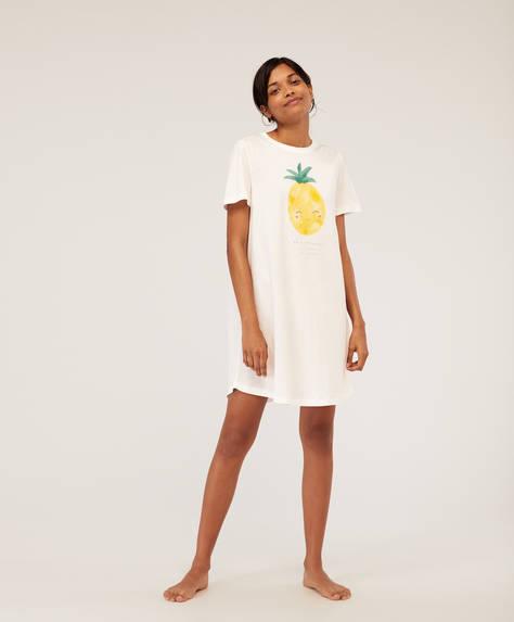 Maglietta lunga ananas