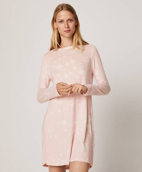 Soft touch stars nightdress