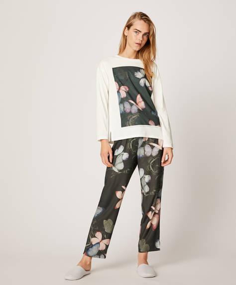 Παντελόνι με πεταλούδες