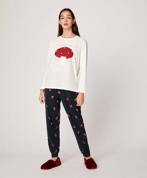 Mushroom trousers