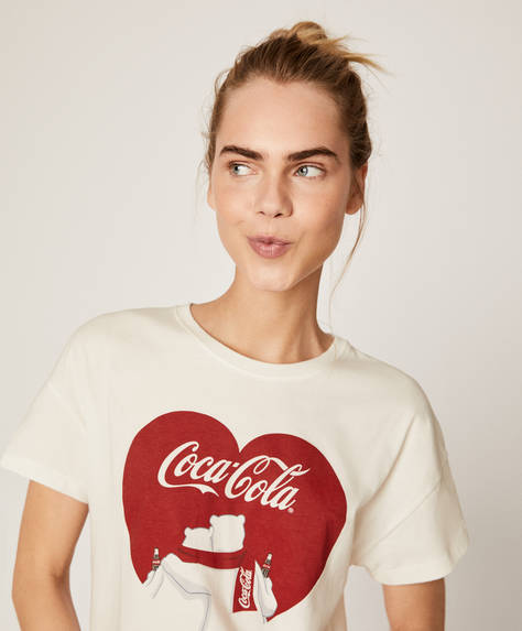 COCA-COLA© short T-shirt
