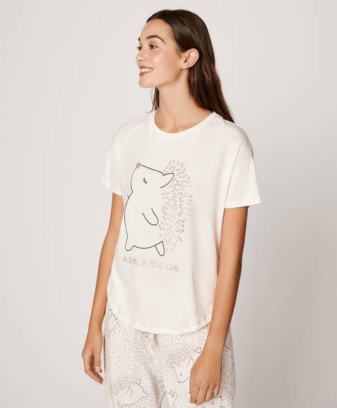 Hedgehog short T-shirt
