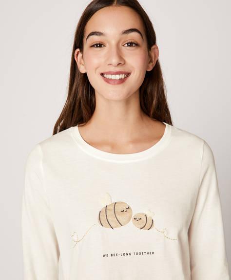 Shirt mit Biene