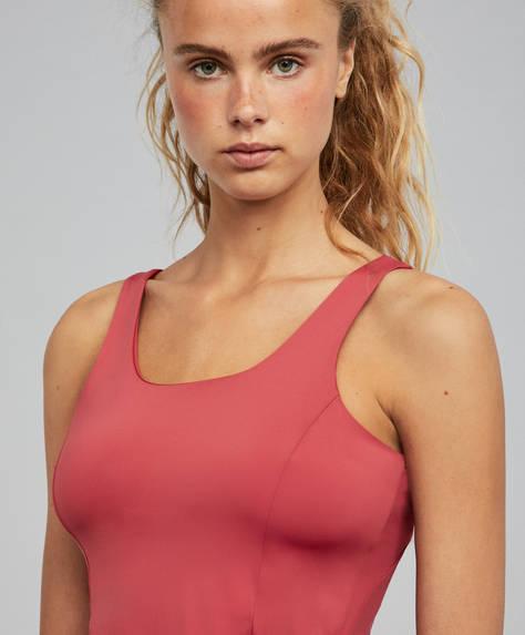 Raspberry tank top