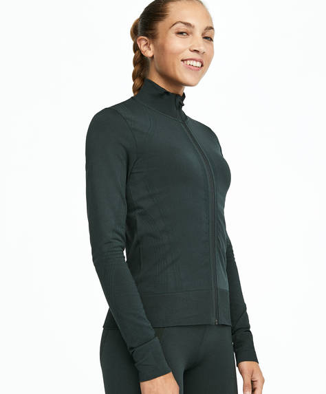 Seamless fitted jacket
