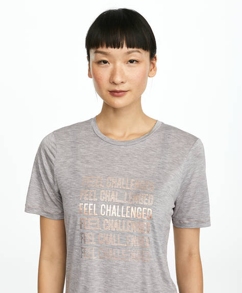 TENCEL™ slogan T-shirt