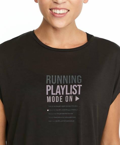 T-shirt com frase TENCEL™