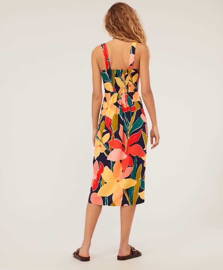3bbcaeb98838 Μεσάτο μίντι φόρεμα πέταλο - Beachwear - Μαγιό και beachwear
