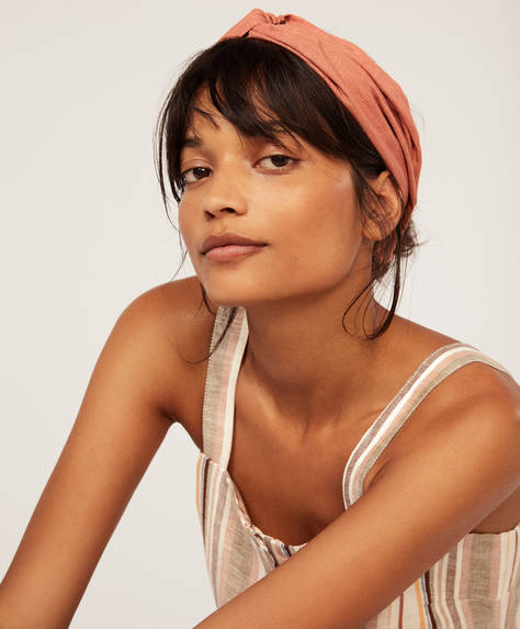 Linen turban