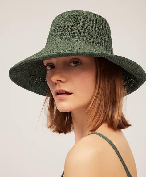 Sombrero rafia handmade