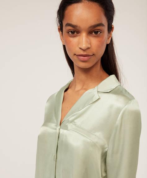 Aqua-green shirt