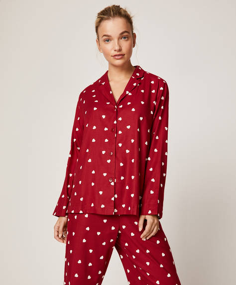 Red hearts shirt