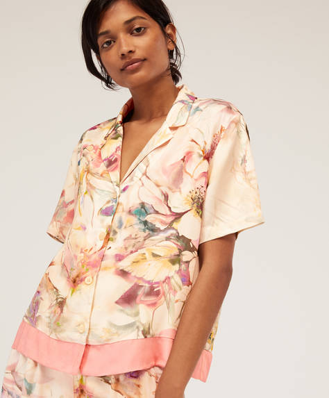 Multicoloured floral shirt