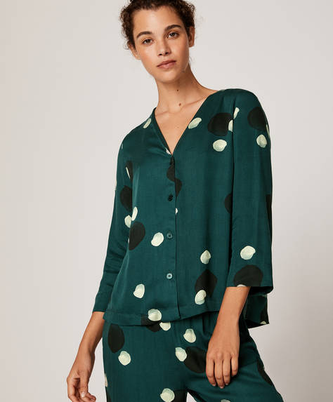 Green dot shirt