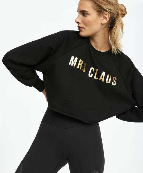 MRS CLAUS sweatshirt