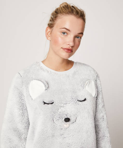Wolf fleece sweatshirt