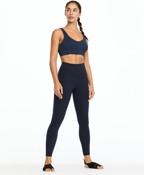 Darted shapewear leggings